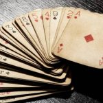 Playing cards were originally invented in China, then spread to India and Persia